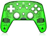 Gamepad Controlador inalámbrico para el Interruptor de Nintendo, el Controlador de Juegos Pro, Joystick inalámbrico de Joypad, Compatible con Nintendo Switch/Switch Lite/PC (Color : Green)
