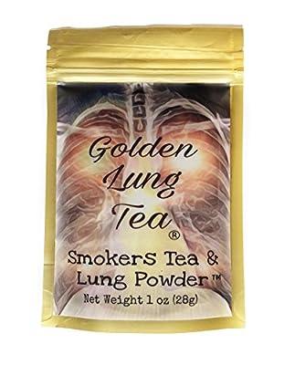Smokers Tea & Lung Powder by Golden Lung Tea