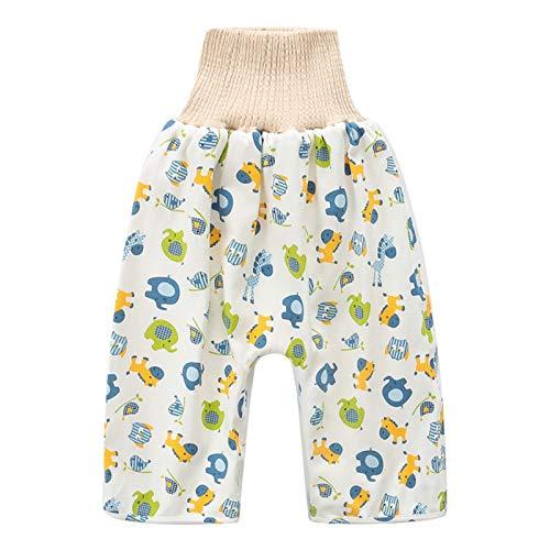 Baumwolle waschbare Windeln, Babywindeln mit hohen Taille Hosen, Kinderwasserdichte Tuch-Matratzen,...