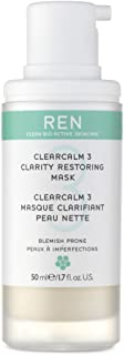 REN Clearcalm 3 Clarity Restoring Mask for Unisex, 1.7 oz, 51 milliliters