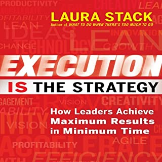 Execution Is the Strategy audiobook cover art