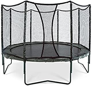 JumpSport AlleyOOP VariableBounce Trampoline with Enclosure | Premier Performance and Safety Features | 10', 12', or 14