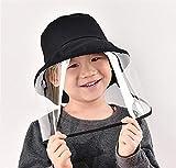 Gorra proteccion solar,Nueva gorra de pescador antivaho máscara de epidemia de protección ocular transparente antivirus hombres y mujeres sombrero de protección spot al por mayor-Sombrero de pescador