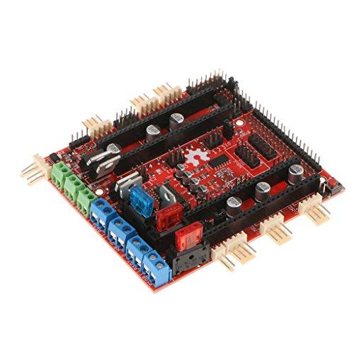 Gazechimp Tarjeta De Expansión Ramps- para Impresora 3D Arduino Due