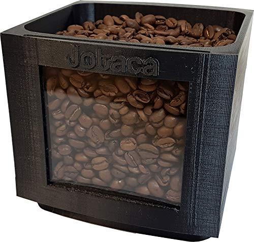 Depósito de expansión para cafeteras automáticas Jura E6 E60 E8 E80 para 500 gramos más (apto para dispositivos hasta año de fabricación 2019).