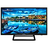 Smart-Tech SMT24P28SA41 Smart TV HD da 23.6 Pollici, Immagine ad Alta Definizione, con Triplo...