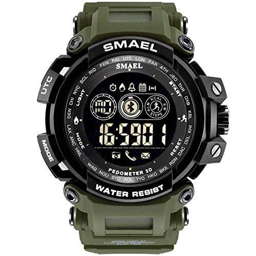 UINGKID Collection Unisex-Armbanduhr Herren Uhren Ultra Dünne SMAEL Smart Watch wasserdichte Bluetooth Sport Armbanduhr für Android IOS Phone