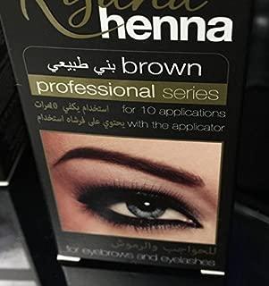 Henna Natural Eyebrow Eyeliner Tint Kit Brown Black Available Professional Eyelashes Cream Easy Dye Long Last brown eyebrow henna