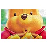 Winnie Ther Pooh Girls Jigsaw Puzzles 1000 Piece Adults Puzzle Educational Game Stress Reliever for Adult Kids
