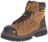 Caterpillar Men's Hauler 6 Inch Waterproof Comp Toe Work Boot, Dark Beige, 7 M US