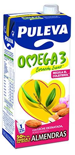 Puleva Omega 3 Leche con Omega 3 y Almendras 1L