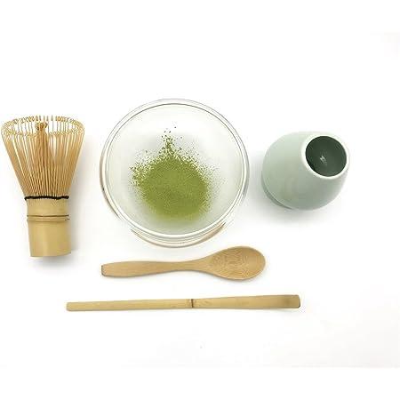 Perfect Traditional Starter Matcha Set Gift Chawan Matcha Bowl Kanpeki Japanese Matcha Tea Set Matcha Sifter Matcha Whisk Holder Matcha Spoon Bamboo Matcha Whisk