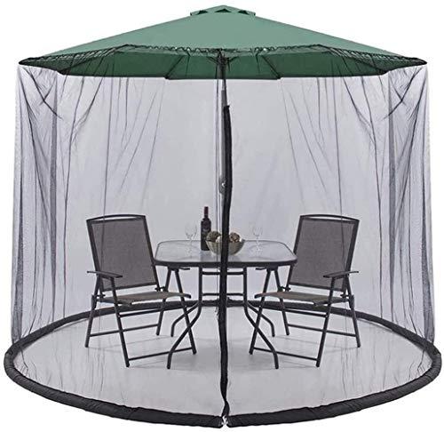Outdoor Garden Umbrella Your Parasol into a Gazebo Mosquito net for parasol, Outdoor Garden Umbrella Table Screen Umbrellas on the table covers cover the mosquito nets Outdoor garden umbrella table sc