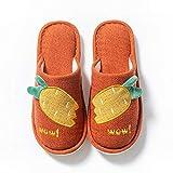 Zapatillas Algodón Mujer Slippers,Zapatillas De Felpa De Zanahoria De Dibujos Animados Zapatillas De...
