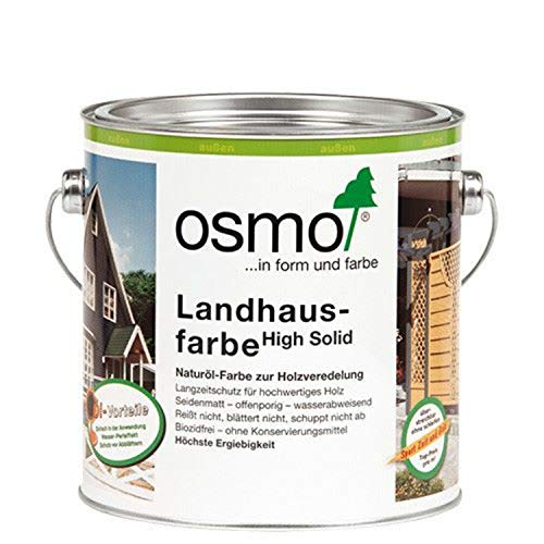 OSMO Landhausfarbe lichtgrau 2735 0,75 L