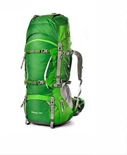 Outdoor Mountaineering Bag Bicycle Backpack Hiking Backpack Multi-Function Travel Backpack Large Capacity Waterproof ZHJDD (Color : E)