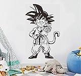 Wandaufkleber Idee Kreative Anime Vinyl Home Decor Wandkunst Licht Leben Schönes Wandbild 57X91 cm