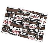 jhgfd7523 - Set di 6 tovagliette con motivo Nutella, antiscivolo, resistenti al calore, lavabili, per cucina, sala da pranzo, decorazione per la casa, 30 x 45 cm
