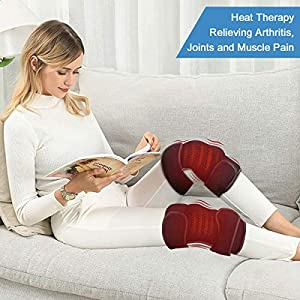 REVIX Microwavable Heating Wraps for Knees and Arms to Relieve Arthritis Pain Support Heat and Cold Therapy