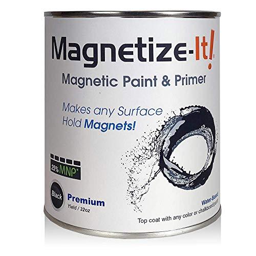 Magnetize-It! Magnetic Paint & Primer – Premium Yield 32oz (MIPYD-1554)