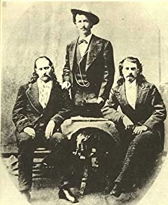 Photo Wild Bill Hickok Texas Jack Omohundro Buffalo Bill Cody