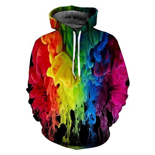 Suéteres de Colores suéter Hombres Encapuchados AliExpress impresión 3D,M0001,SG