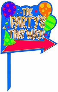 Best party this way signs Reviews