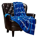 Chanasya Healing Thoughts Caring Prayer Comfort Sympathy Gift Message Throw Blanket - Soft Comfort Compassion Thoughtful Encouraging Blanket for Male Female Friend Cancer Survivor Get Well Gift