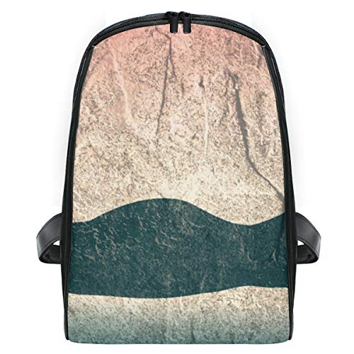 YCHY Illustrations-Schattenbild, das schönes Meerjungfrau-Kurzschluss liegt,Laptop Rucksack für Männer Schulrucksack Multifunktionsrucksack Mini Tagesrucksack für Schule Wandern Reisen Camping