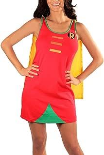 DC Comics Robin Logo Sleep Tank Dress with Cape
