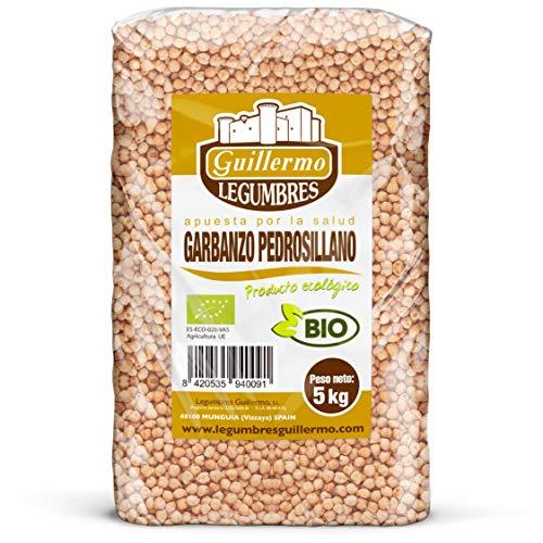 Guillermo Horeca Garbanzo Pedrosillano Ecológico BIO Granel Calidad Extra 5kg
