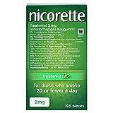 NICORETTE 2 mg freshmint Kaugummi 105 St