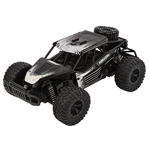 2.4G de alta velocidad de ascenso eléctrico del coche de RC, Bigfoot la deriva fuera de la carretera de 4 canales RC Buggy, recargable coches de carreras for adultos, del cumpleaños del niño de contro