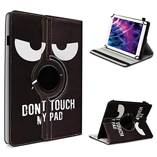 UC-Express Medion Lifetab P10612 P10610 P10606 P10602 X10605 X10607 P9702 X10302 P10400 P10506 Tablet Universal Tablet Schutzhülle Hülle Tasche 360° Drehbar Cover Hülle