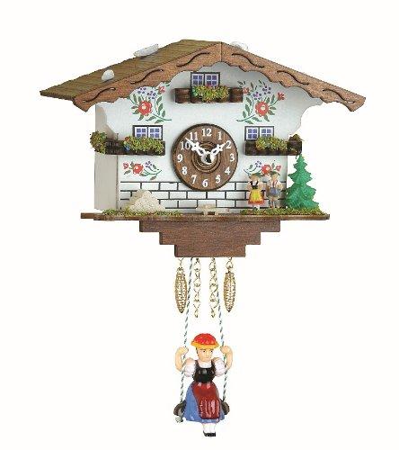 Trenkle Kuckulino Reloj en Miniatura de la Selva Negra casa Suiza Cuarzo con Llamada del cucú TU 2021 SQ