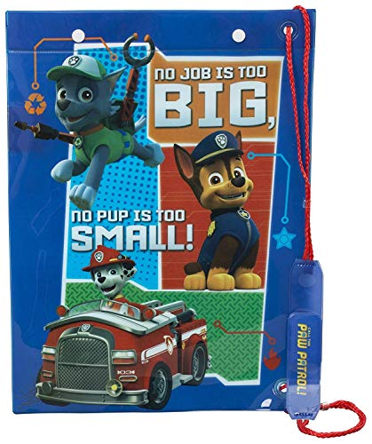 (One size, Blue) - Paw Patrol Childrens Drawstring Handle Waterproof Chase Marshall And Rocky Character Swim Bag