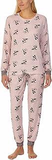 Disney Womens 2 Piece Cozy Pajama Set