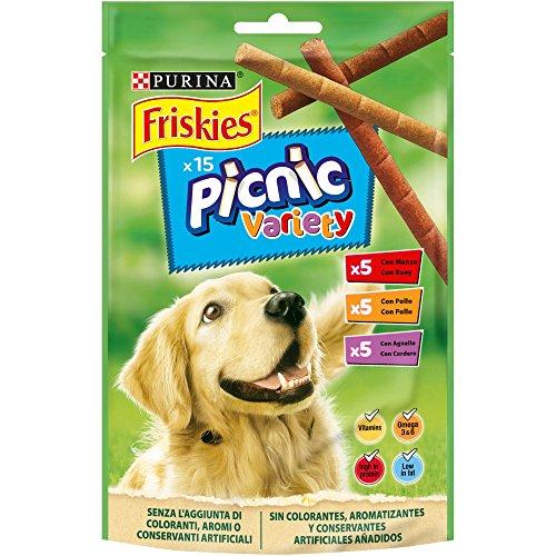 Purina Friskies Picnic Variety golosinas y chuches para perros 8 x 126 g