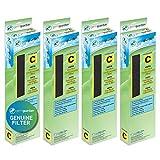 Guardian Technologies FLT50004PK FLT5000 HEPA Replacement Filter C, AC5000E, AC5250PT, AC5350B, AC5350BCA, AC5350W, AC5300B Air Purifiers, 4 pack