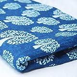 HANDICRAFTOFPINKCITY Indian Fabric 100% Cotton Tree of Life