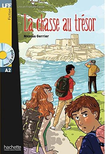 Niveau A2: La chasse au trésor: Lektüre + Audio-CD (LFF - Lire en Francais Facile)