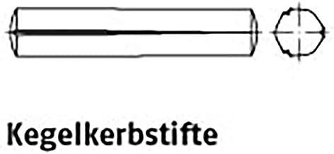 Kegelstiften ISO 8744 staal 8 x 55 VE=S 100 stuks
