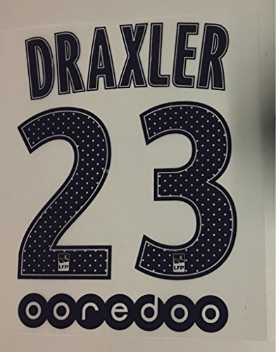 flock Original Paris Saint Germain Trikot 16cm - DRAXLER 23