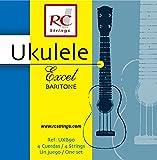 Royal Classsics UXB90 - Cuerdas de titanium para ukelele, tensión normal