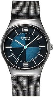 Bering 丹麦品牌 经典系列 时尚商务多功能防水石英表 男式腕表蓝宝石超薄手表