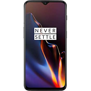 OnePlus 6T A6013 Dual Sim 128GB/6GB (Mirror Black) - Factory Unlocked - GSM ONLY, NO CDMA - No Warranty in the USA