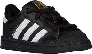[アディダス オリジナルス] adidas Originals Superstar - ボーイズ Toddler バスケット Black/White/Black US07.0 [並行輸入品]