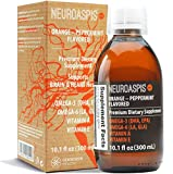 NEUROASPIS plp10 Tuna Fish Oil Liquid Omega-3 1316MG per 1 TSP, 1035MG DHA + 202MG EPA, 1293MG Borage Omega-6, Vitamin A, Vitamin E Mixed Tocopherols, Heart Health and Brain Supplement | 60 TSP bottle