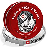 Mozart Schobkind Flea and Tick Prevention for Dogs - Hypoallergenic Dog Collar - Flea and tick Prevention for Dogs-Flea Collar for Dogs - Flea Collar and Medicine for Dogs (L)