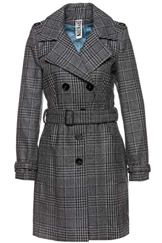 Drykorn Damen Trenchcoat Dagenham Grau 34
